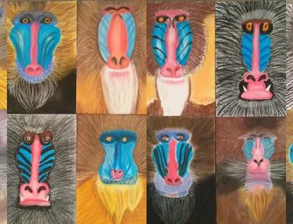 Učit s láskou aneb paviáni jako malovaní…