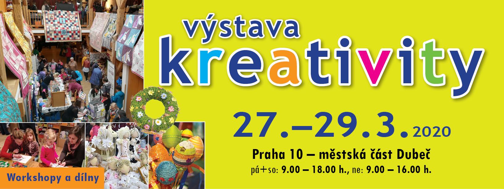 Výstava Kreativity – jaro 2020