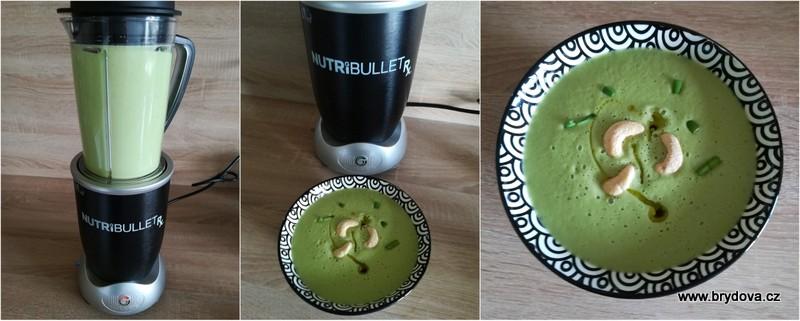 Hrášková polévka z mixéru
