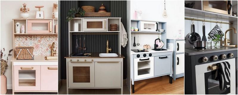 Kuchyňky Ikea a jejich předělávání
