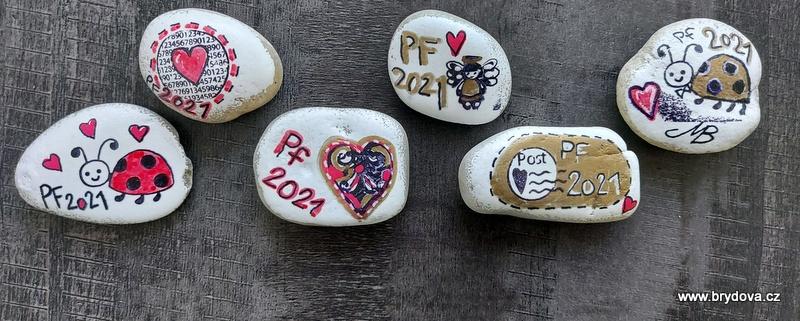 Razítkované kamínky