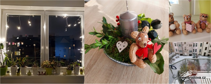 Advent 04 – svícen, medvědi aj.