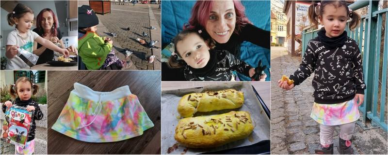 Vlog 47/21 – chůze, sukýnka, Bing a štrůdl