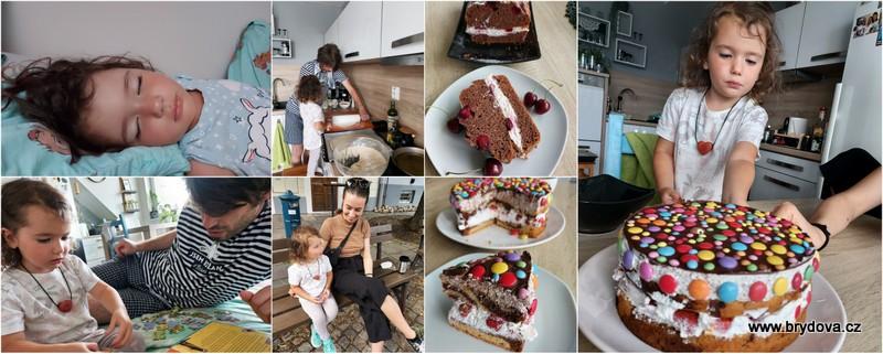 Vlog 158/21 – sobotní pohoda a lentilkový dort