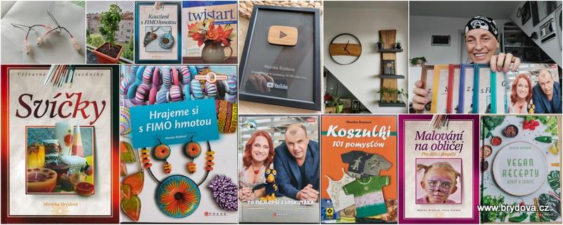 Vlog 143/21 – Libora, plaketa, moje knihy