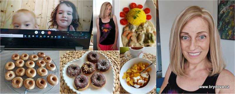 Vlog 148/21 – donuty, nová paruka a krémová omáčka