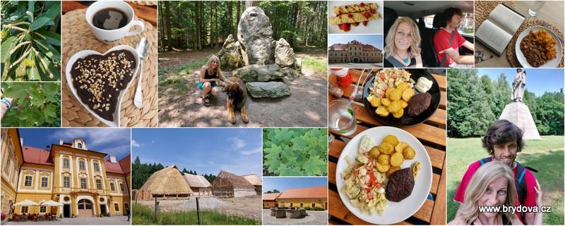 Vlog 182/21 – recepty a výlet Borovany, Trocnov